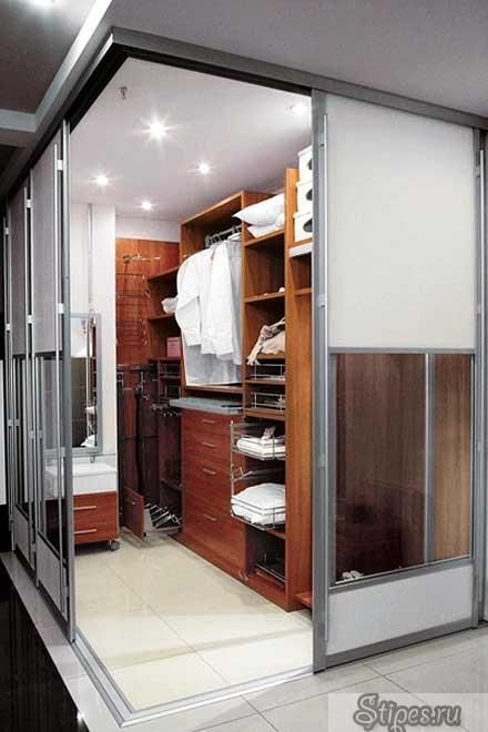 """Гардеробная """"компактная гардеробная"""" дизайн и декор интерьер."""
